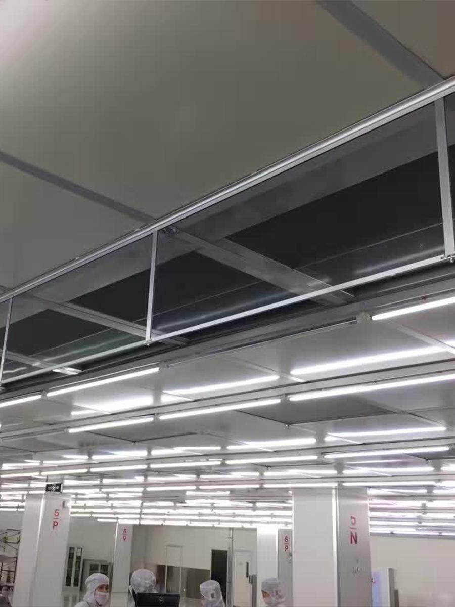 新恒邦固定式刚性挡烟垂壁