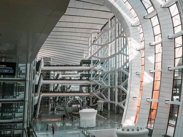北京大兴国际机场防火卷帘门