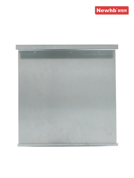 固定钢板式挡烟垂壁(单板)
