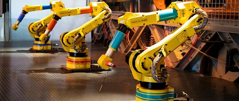 焊接机器人防护门