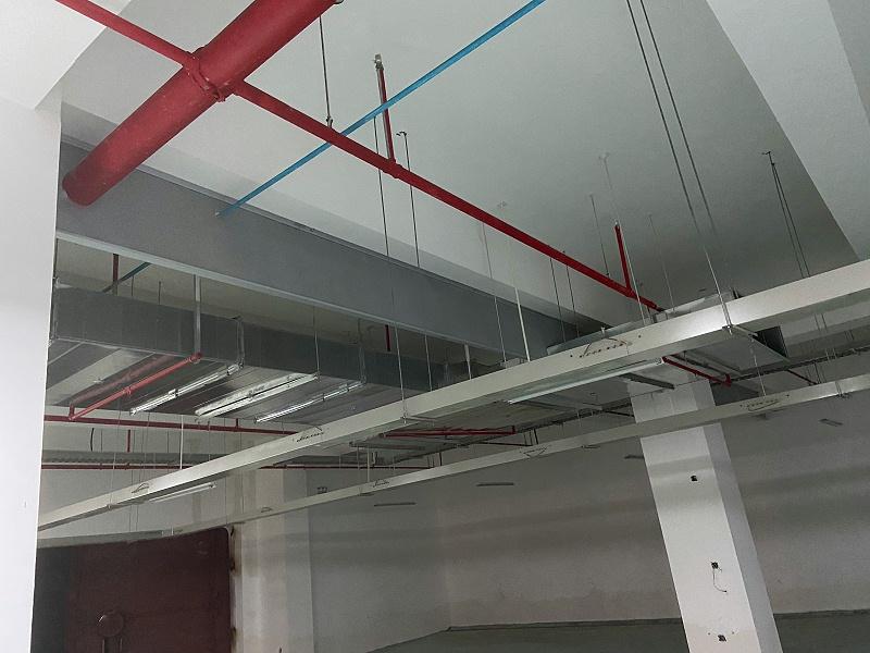 新恒邦固定式防火布挡烟垂壁