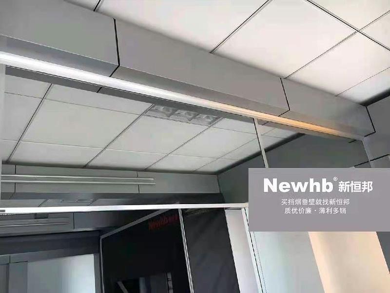 防火透明玻璃挡烟垂壁
