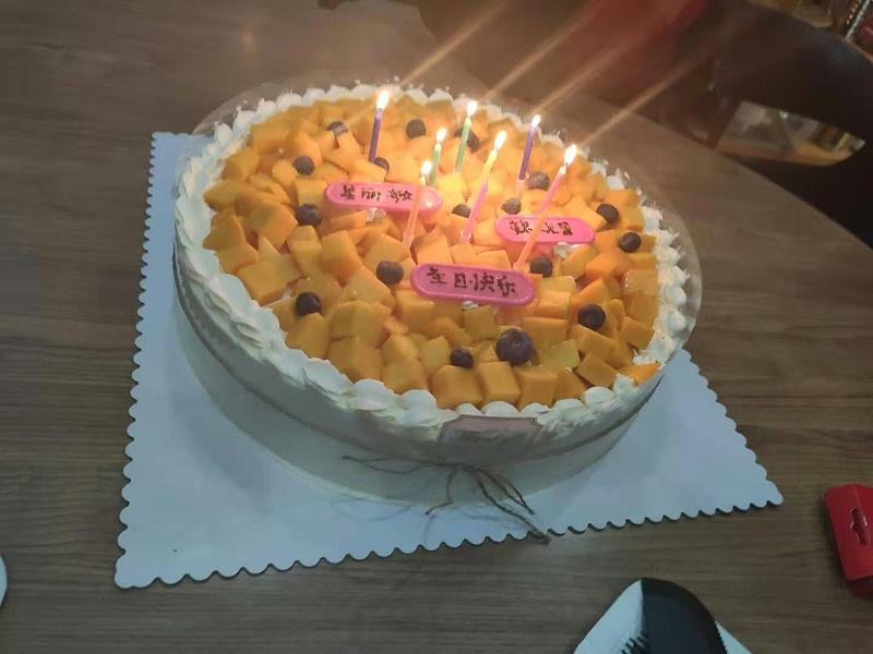 新恒邦门业11月蛋糕会