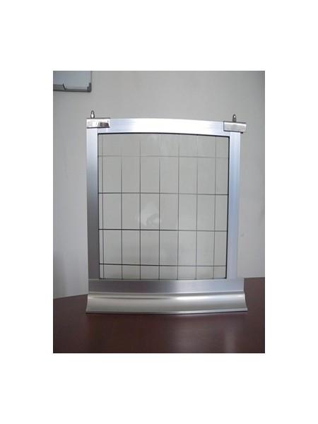 固定刚性挡烟垂壁(夹丝玻璃)