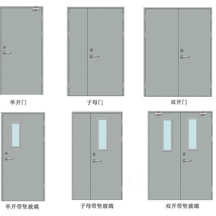平开门类型