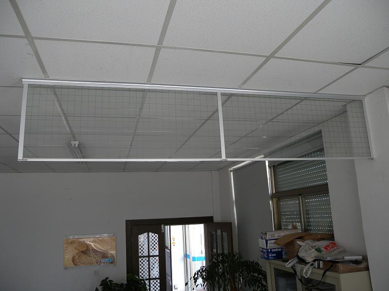 固定式刚性挡烟垂壁(夹丝玻璃)