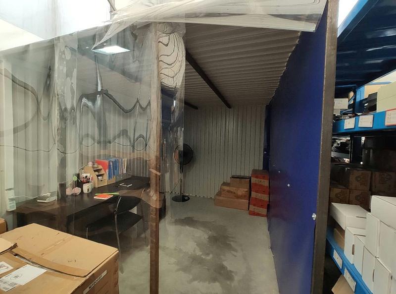 仓库空调房