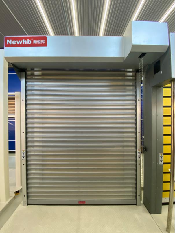 新恒邦钢质透视卷帘门