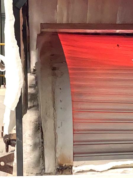 水平式钢质防火卷帘门