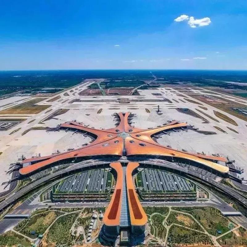 北京大兴国际机场选用新恒邦防火卷帘门