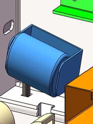 门片入轨辅助系统