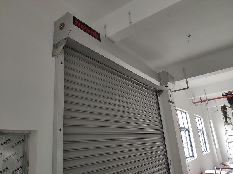钢制卷帘门(抗风)
