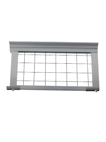 固定式刚性挡烟垂壁--夹丝玻璃