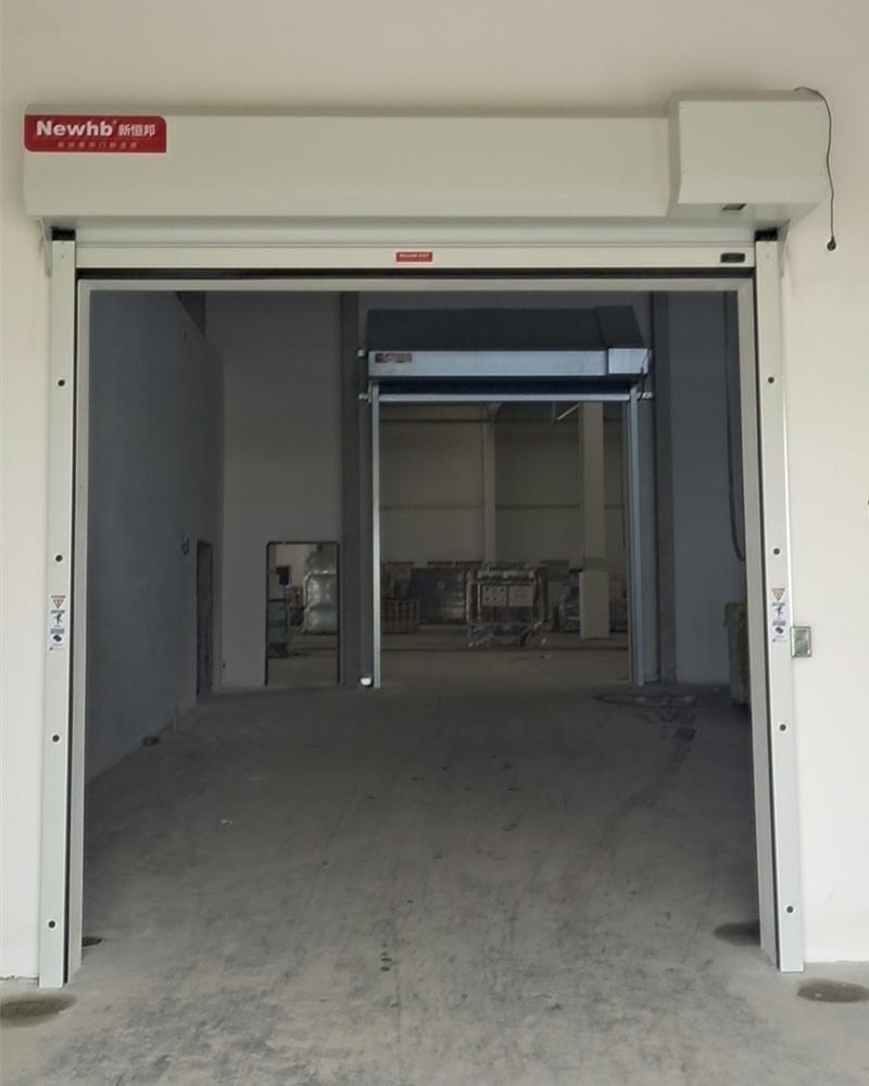 钢制电动卷帘门