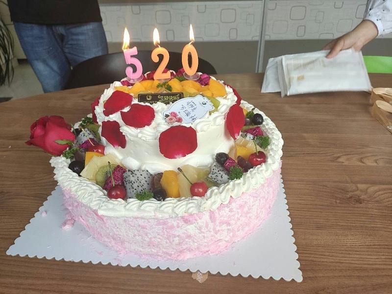 Newhb新恒邦员工生日蛋糕